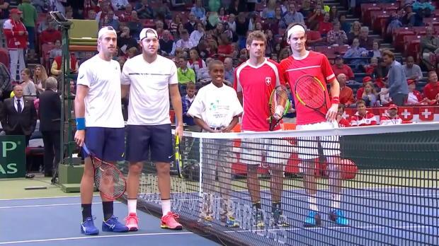 Davis Cup: USA - Schweiz, Tag 2