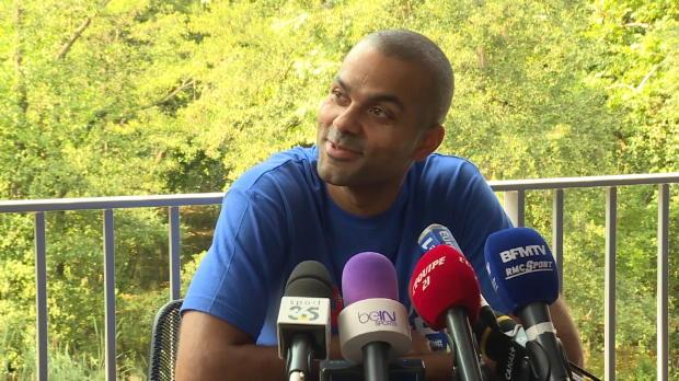 Basket : FIBA - Euro 2015 - Parker et les symboles de l'Europe en NBA