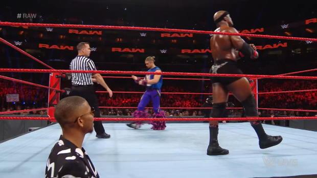 Tyler Breeze vs. Bobby Lashley: Raw, Oct. 15, 2018