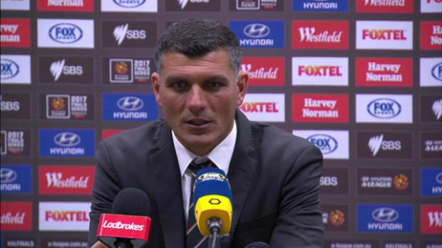 Brisbane Roar EF press conference