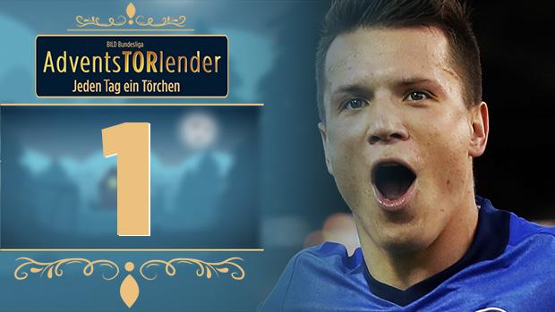 Adventstorlender - Schalke-Schlenzer von Yevhen Konoplyanka
