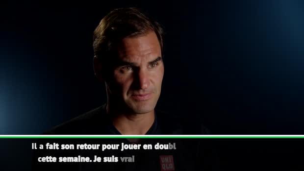 """Basket : Cincinnati - Federer - """"Je suis vraiment heureux pour Murray"""""""