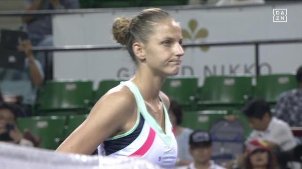 WTA Tokio: Kerber - Pliskova