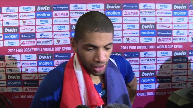 Basket : FIBA - Bleus - Batum - ''Content pour le basket français''