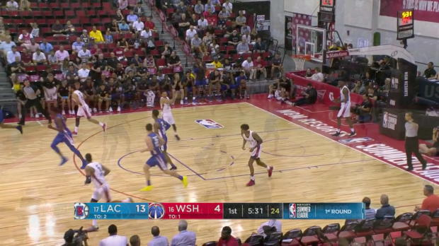 WSC: Reggie Upshaw (24 points) Highlights vs. Washington Wizards