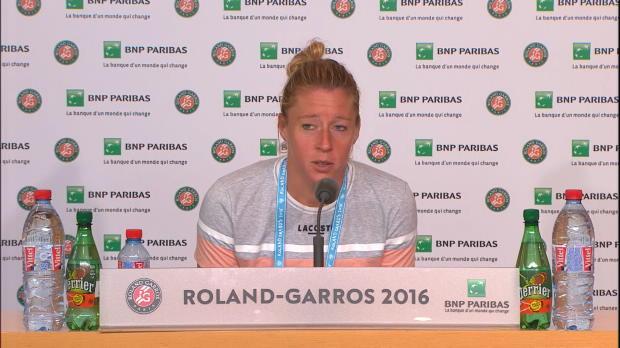 L1 : NEWS - Roland-Garros - Parmentier - 'Un match correct'