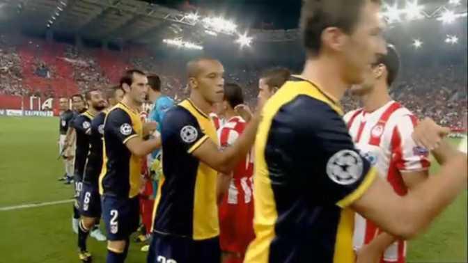 LdC : Olympiakos 3-2 At.Madrid