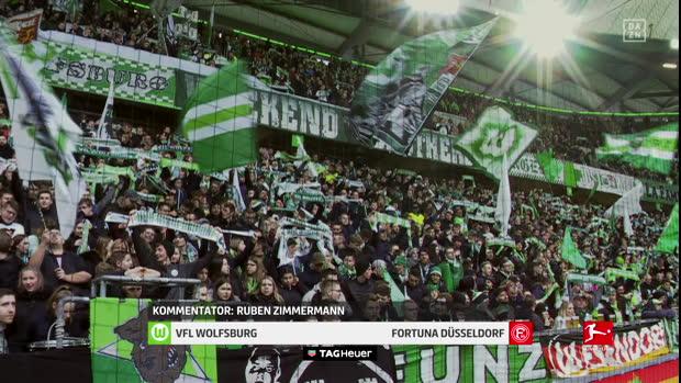 Bundesliga: VfL Wolfsburg - Fortuna Düsseldorf   DAZN Highlights