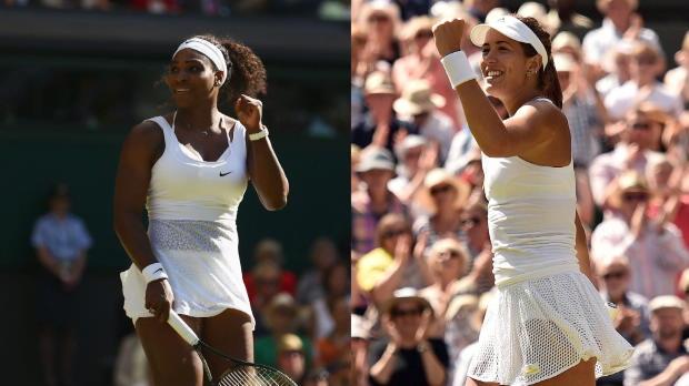 """Wimbledon: """"Serena wird Muguruza überrollen"""""""