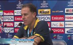 Matildas coach Alen Stajcic says he is proud of his team's efforts in the wake of their 1-0 loss to Japan in the Asian Cup final.