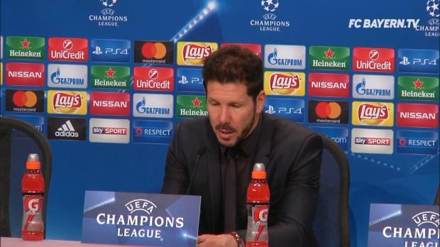 """Simeone: """"Bayern hat eine enorme Qualität"""""""