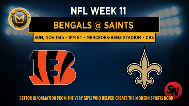 Cincinnati Bengals @ New Orleans Saints