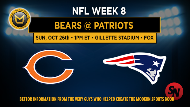 Chicago Bears @ New England Patriots