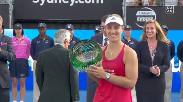 Sydney: Kerber gewinnt ersten Titel seit 2016!