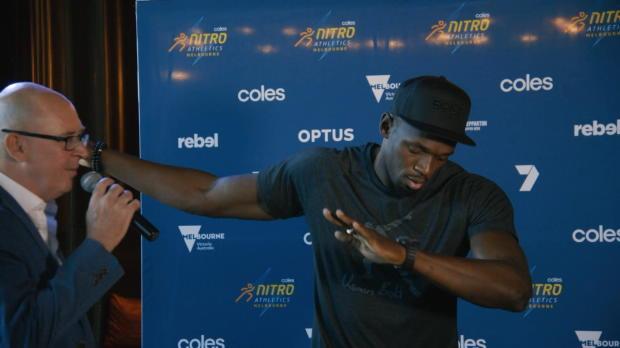 Nitro Games: Usain Bolt packt Tanzkünste aus