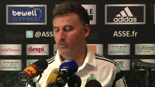 Foot : ASSE - Galtier croit en son attaque