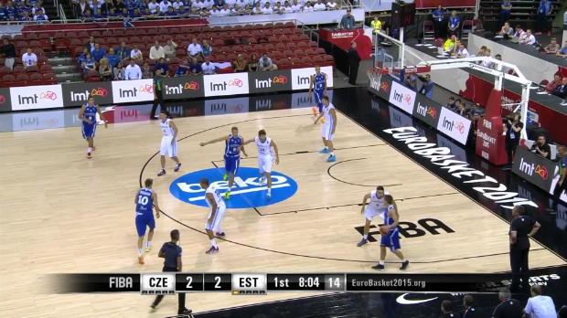 Basket : Czech Republic v Estonia - Best Block - FIBA Eurobasket 2015
