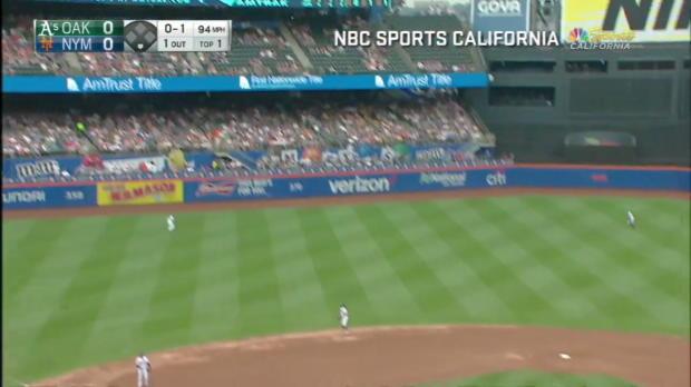Oaklands Homeruns überkommen Mets