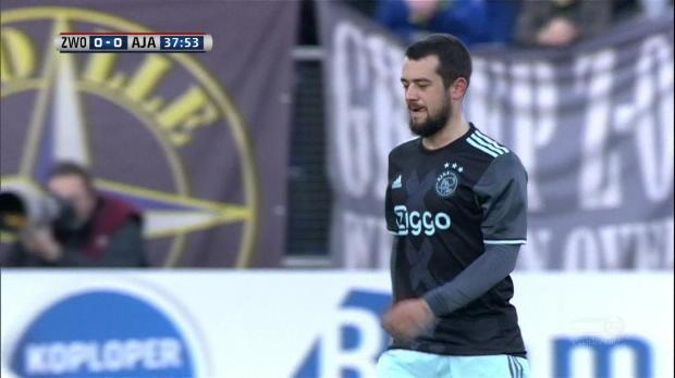 Sohn von Oranje-Legende gibt Ajax-Debüt