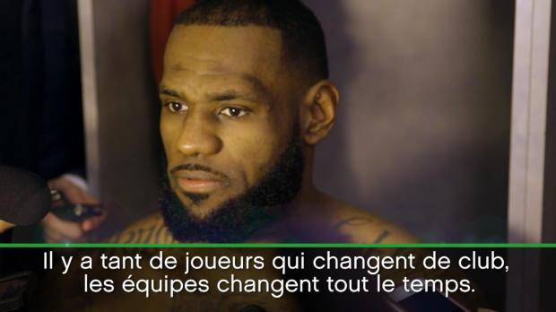 """Basket : NBA - Cavs - LeBron ne voit pas """"de rivalité"""" avec les Warriors"""