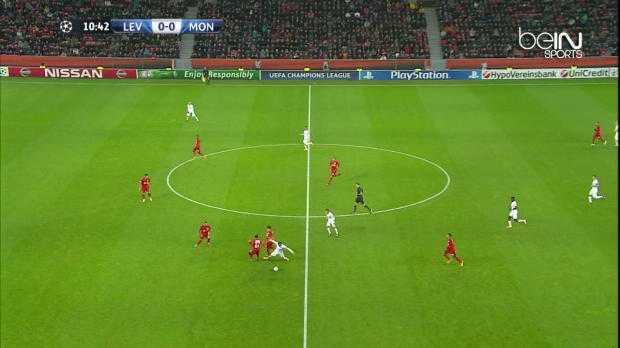 LdC : Bayer Leverkusen 0-1 Monaco