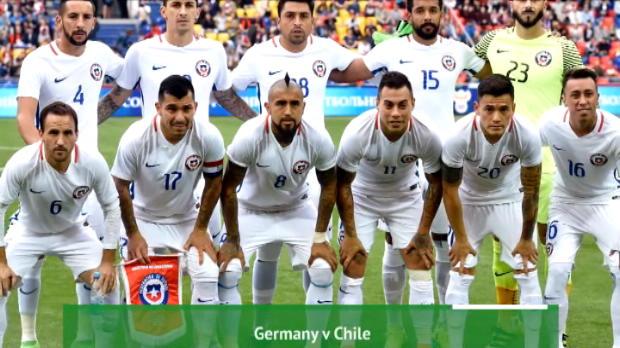 كرة قدم: كأس القارات: تقديم موقعة ألمانيا × تشيلي