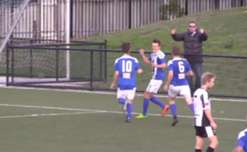 Check out both of Olympia Warriors' goals as they edged out Hobart JEEP Zebras, courtesy of Football Federation Tasmania.