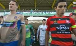A goal in either half saw Western Sydney claim a 2-0 win over Newcastle at Campbelltown Stadium on Sunday.