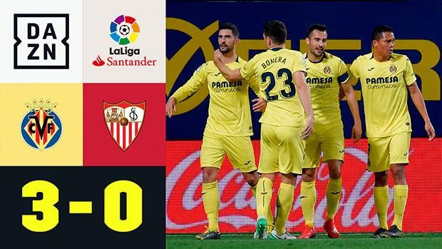 LaLiga: Villarreal - FC Sevilla | DAZN Highlights