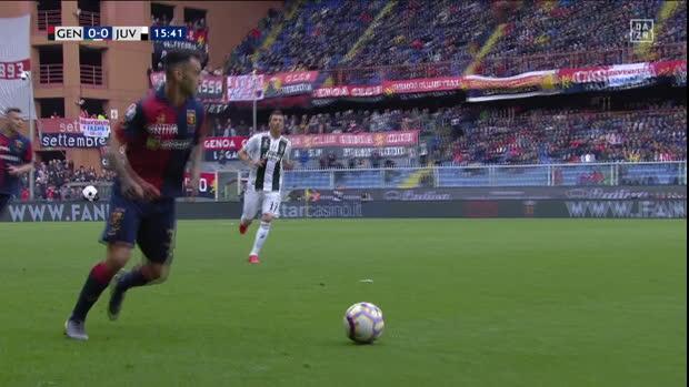 Serie A: Genua - Juventus Turin   DAZN Highlights