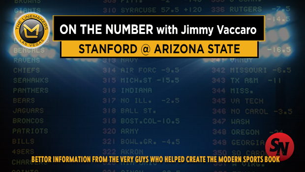 Jimmy V on Stanford @ Arizona State