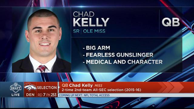2017 Mr. Irrelevant: Chad Kelly