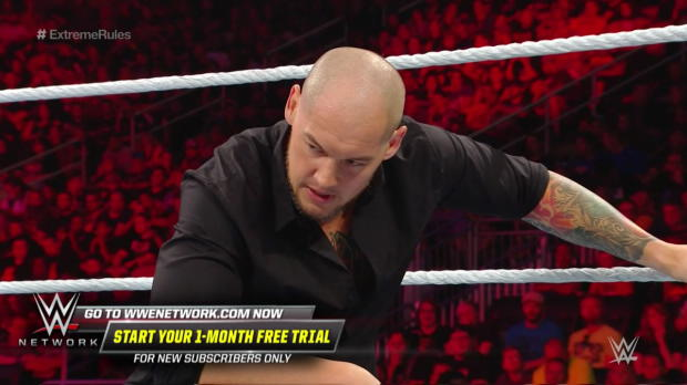 """""""Constable"""" Baron Corbin relentlessly assaults Finn Bálor: WWE Extreme Rules 2018 (WWE Network Exclusive)"""