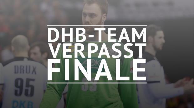 Handball-WM: DHB-Traum geplatzt - Norwegen siegt