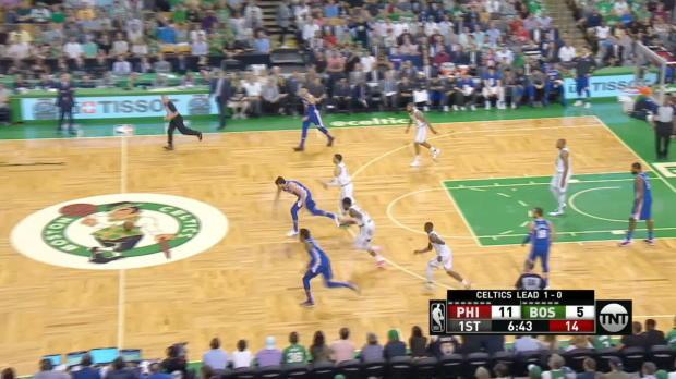 GAME RECAP: Celtics 108, 76ers 103