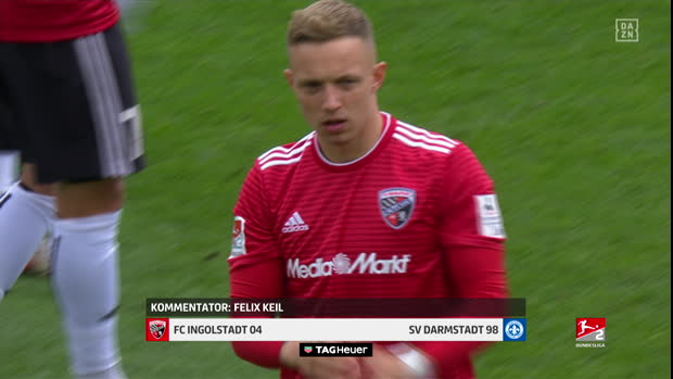 2. Bundesliga: FC Ingolstadt 04 - SV Darmstadt 98   DAZN Highlights