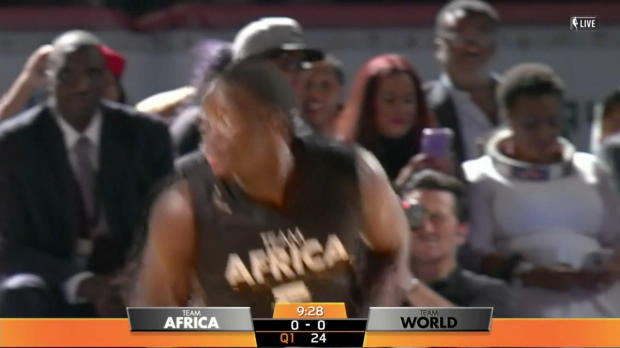 WSC: Highlights: Victor Oladipo (28 points) vs. the World, 8/5/2017