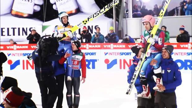 Skispringen: Kraft holt Tournee-Gesamtsieg