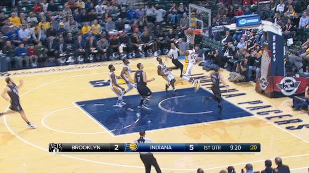 Assist of the Night - Paul George
