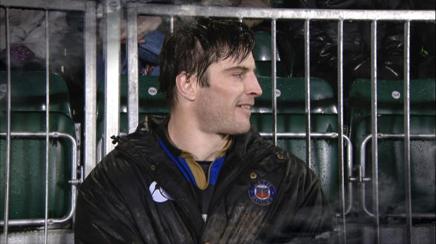Aviva Premiership - Bath Rugby?s Paul Grant, Man of the Match presented by Ardbeg