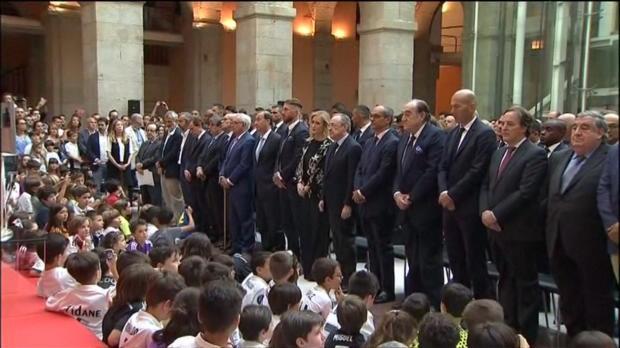 Real Madrid mit Schweigeminute für London-Opfer