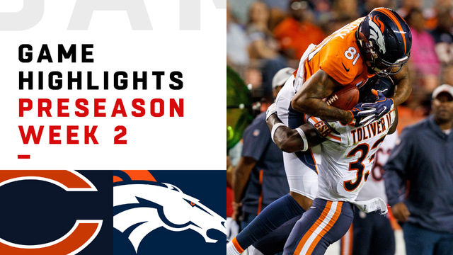 Bears vs. Broncos highlights | Preseason Week 2