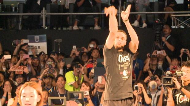 Warriors - Le show Curry à Tokyo