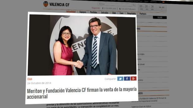Peter Lim ya es propietario del Valencia