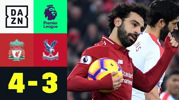 Premier League: Liverpool - Crystal Palace   DAZN Highlights