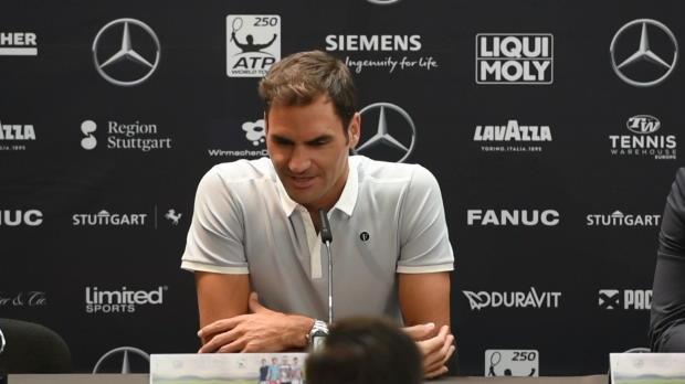 Stuttgart: Federers Liebeserklärung ans Tennis