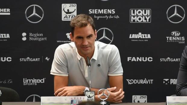 Stuttgart: Federer über Nadal und Wimbledon