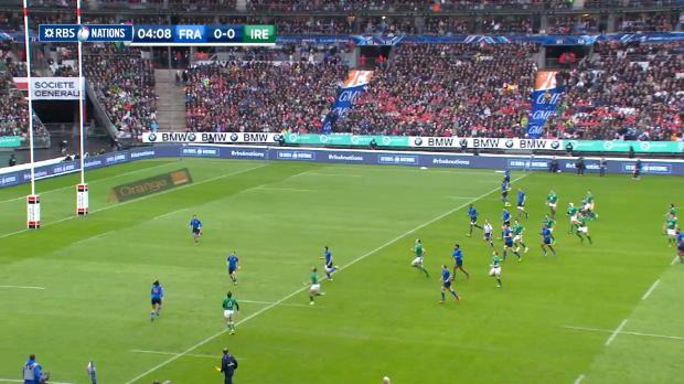 France v Ireland, First Half Highlights, 13th February 2016