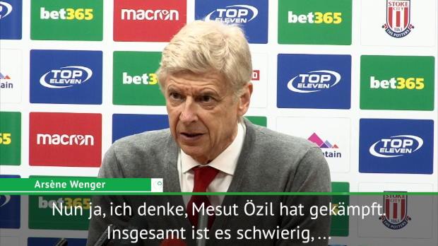 """Wenger: """"Mesut Özil hat das nicht verdient"""""""