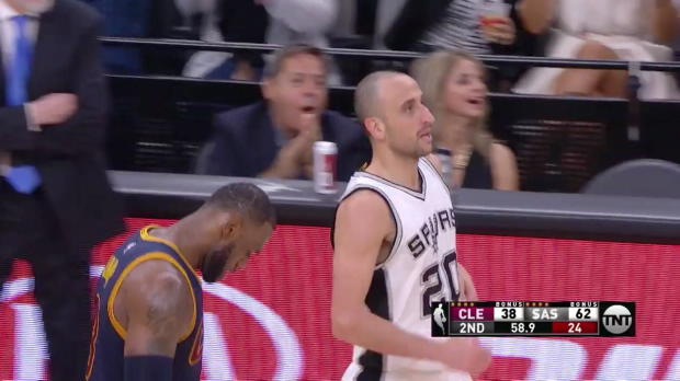 WSC: Top Play by Manu Ginobili vs. the Cavaliers